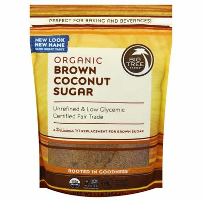 Big Tree Farms Coconut Sugar, Brown, Organic
