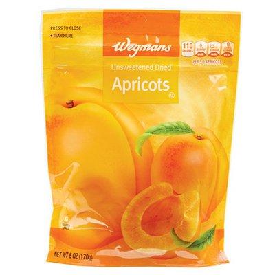 Wegmans Apricots, Unsweetened Dried
