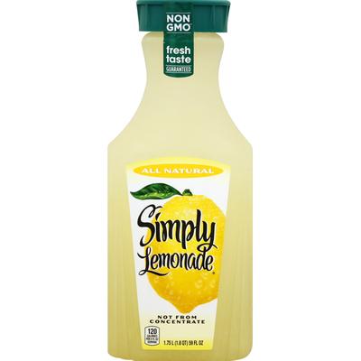 Simply Lemonade Bottle