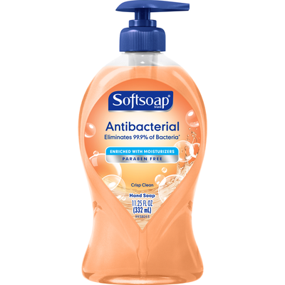 Softsoap Hand Soap, Antibacterial, Crisp Clean
