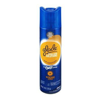 Glade Tough Odor Solutions Refreshing Citrus Air Sanitizer