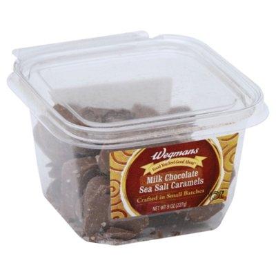 Wegmans Milk Chocolate, Sea Salt Caramels