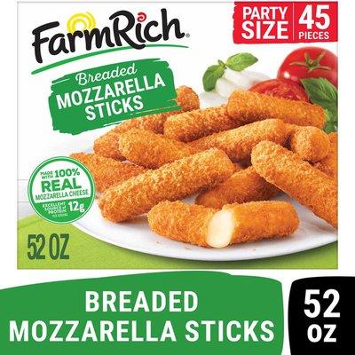 Farm Rich Breaded Mozzarella Cheese Sticks