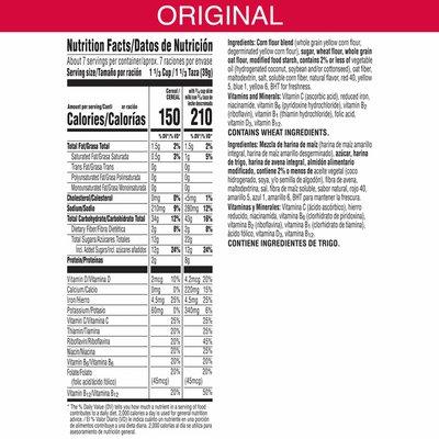 Kellogg's Froot Loops Breakfast Cereal, Fruit Flavored, Breakfast Snacks with Vitamin C, Original