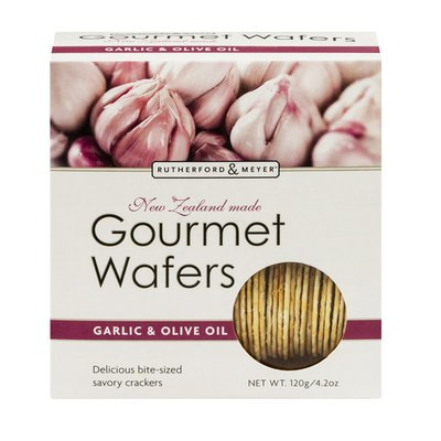 Rutherford & Meyer Gourmet Wafers Garlic & Olive Oil