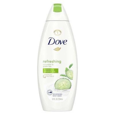 Dove Refreshing Body Wash Cucumber And Green Tea
