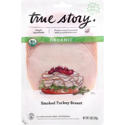 True Story Organic Smoked Turkey Breast