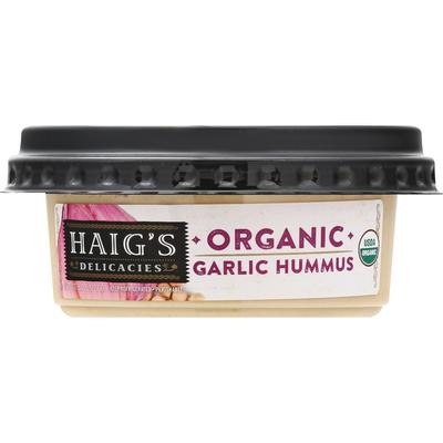 Haig's Hummus, Organic, Garlic