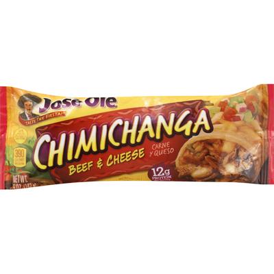 Jose Ole Chimichanga, Beef & Cheese