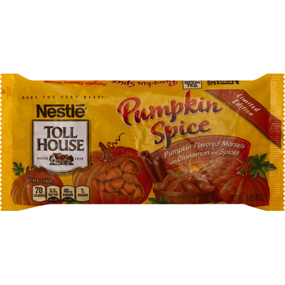 Toll House Morsels, Pumpkin Spice