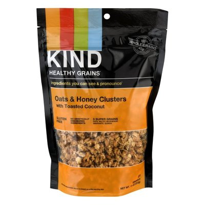 KIND Healthy Grains Clusters, Oat & Honey, with Toasted Coconut