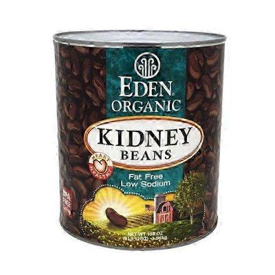 Eden Foods Organic Kidney Bean Fat Free Low Sodium Big Can