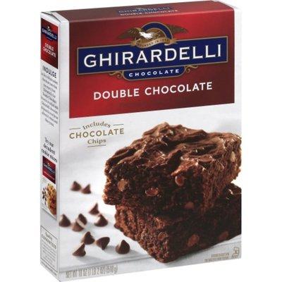 Ghirardelli Chocolate Chocolate Double Chocolate Premium Brownie Mix