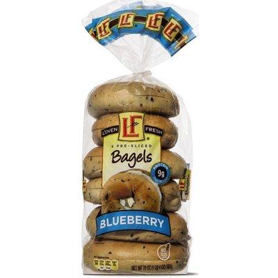 L'oven Fresh Blueberry Bagels