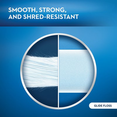 Oral-B Glide Pro-Health Mint Dental Floss, Smooth, Strong, Shred