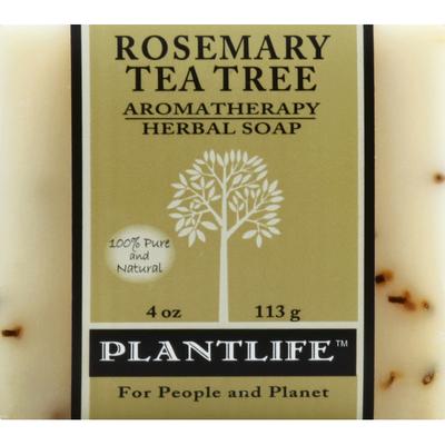 Plantlife Soap, Herbal, Aromatherapy, Rose Mary Tea Tree