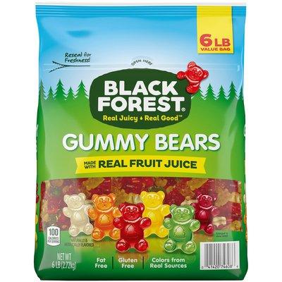 Black Forest Gummi Gummy Bears Candy