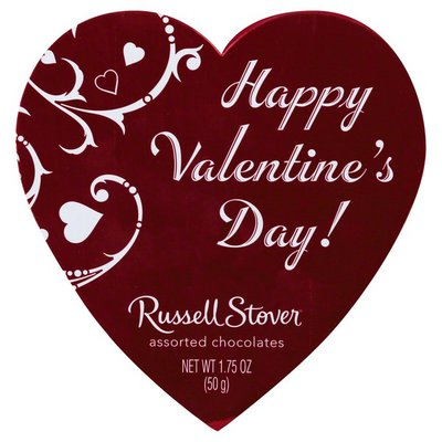 Russell Stover Chocolates, Assorted, Happy Valentine's Day!