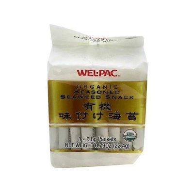 Wel-Pac Organic Seasoned Seaweed Snack