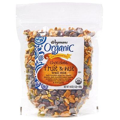 Wegmans Organic Food You Feel Good About Chocolate Fruit & Nut Trail Mix