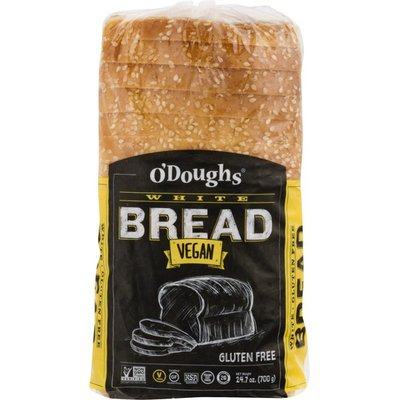 O'Doughs Bread, White, Gluten Free, Vegan