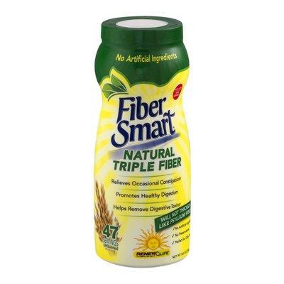 Fiber Smart Natural Triple Fiber - 47 Servings