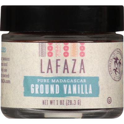 LAFAZA Ground Vanilla, Pure Madagascar