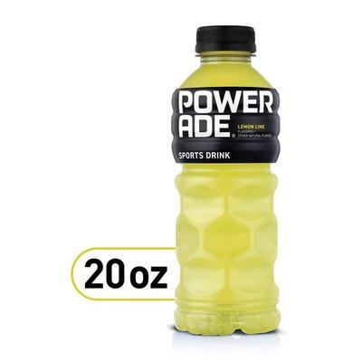 Powerade Lemon Lime, Ion4 Electrolyte Enhanced Fruit Flavored Sports Drink W/ Vitamins B3, B6, And B12, Replenish Sodium, Calcium, Potassium, Magnesium
