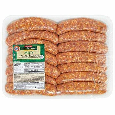 Wegmans Italian Classics Mild Italian Sausage, FAMILY PACK
