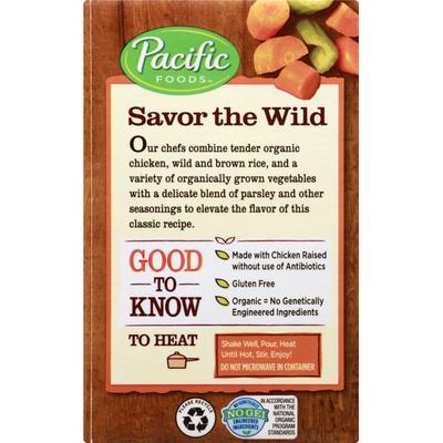 Pacific Soup, Organic, Chicken & Wild Rice