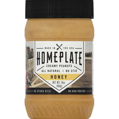Homeplate Peanuts, Creamy, Honey