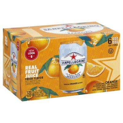 San Pellegrino Orange Italian Sparkling Drinks