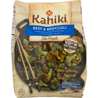 Kahiki Beef & Broccoli