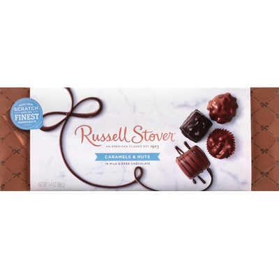 Russell Stover Caramel & Nuts