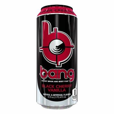 Bang Energy Energy Drink, Black Cherry Vanilla