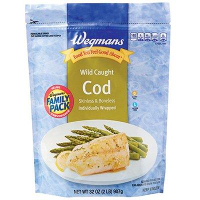 Wegmans Food You Feel Good About Wild Caught Alaska Cod, FAMILY PACK