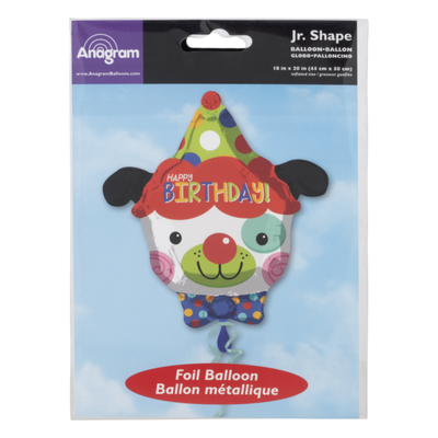 Anagram Jr. Shape Foil Balloon Happy Birthday!