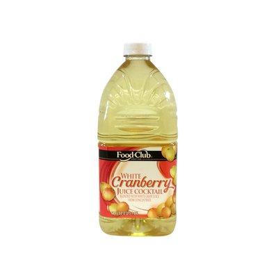 Food Club White Cranberry Juice