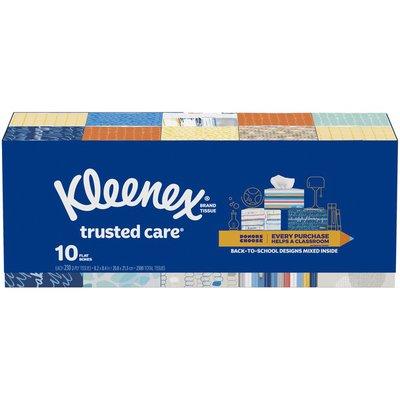 Kleenex Trusted Care Everyday Facial Tissues Rectangular Box