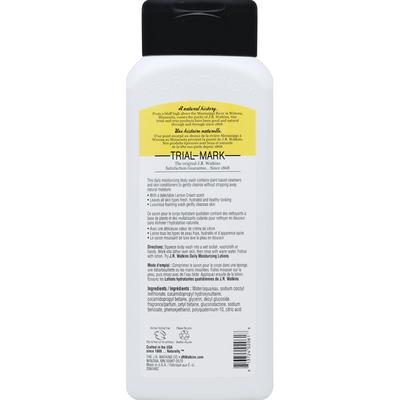 J.R. Watkins Body Wash, Lemon Cream Scent, Daily Moisturizing