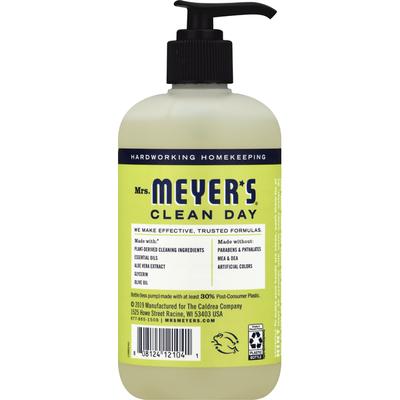 Mrs. Meyer's Clean Day Hand Soap, Lemon Verbena Scent