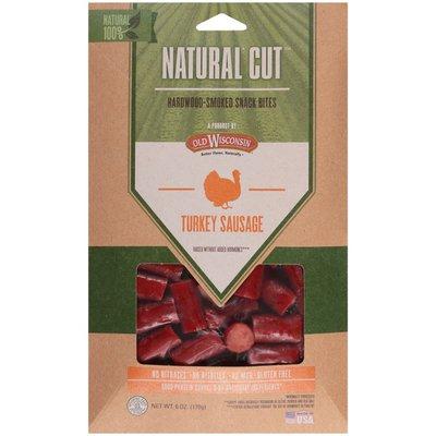 Snack Sticks Natural Cut Hardwood-Smoked Turkey Sausage Snack Bites
