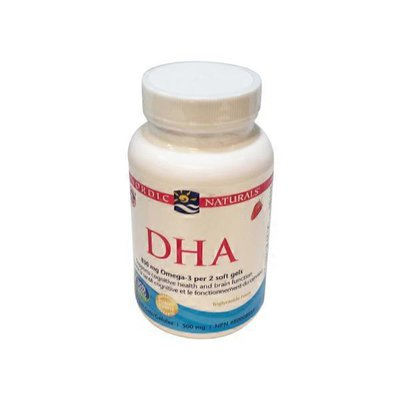 Nordic Naturals Strawberry Flavour DHA Softgels