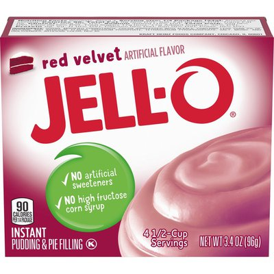 Jell-O Red Velvet Instant Pudding & Pie Filling Mix
