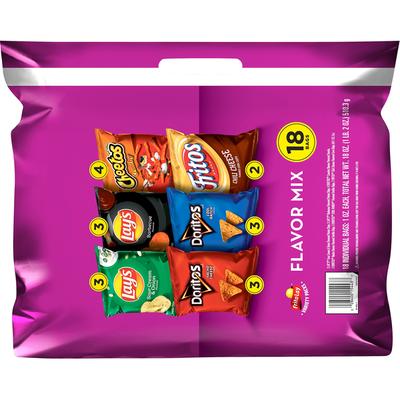Frito Lay's Flavor Mix Snacks