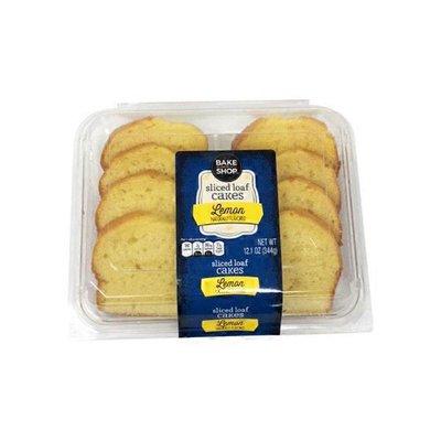 Bake Shop Sliced Lemon Loaf Cake