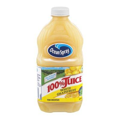 Ocean Spray 100% Juice with No Sugar Added White Grapefruit