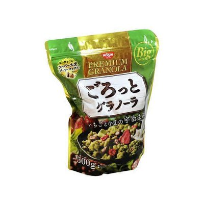 Nissin Green Tea Fruit Granola
