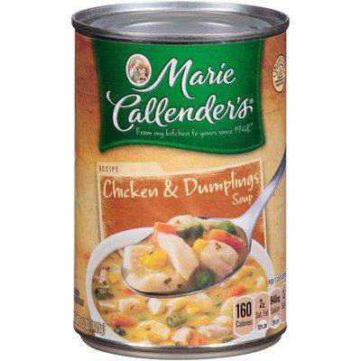 Marie Callender's Chicken & Dumplings Soup