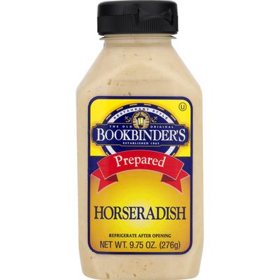 Bookbinder's Horseradish, Prepared